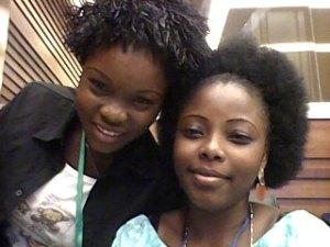 Lucrece Funmilayo Falolou, YWCA Rwanda and Huguette Rufine Yakpa from the YWCA of Benin