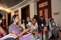 Asha Ramesh and young women